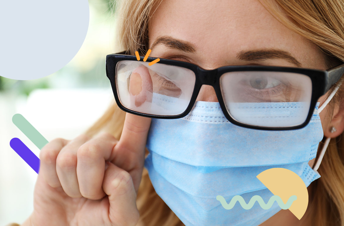 5 Tips to Prevent Foggy Glasses When Wearing a Mask