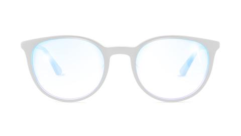 عدسات شفافة